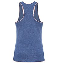 The North Face W Graphic Play Hard Tank Top fitness Donna, Dark Blue
