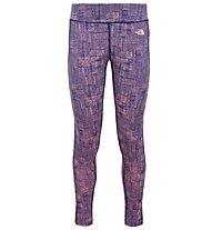 The North Face W Pulse Tight - Damen Hose, Dark Blue
