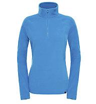 The North Face 100 Glacier - Felpa in pile trekking - donna, Blue