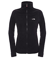 The North Face 200 Shadow Full Zip giacca in pile donna, TNF Black