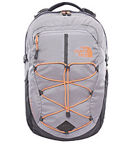 The North Face Women´s Borealis 25 L - Zaino, Dapple Grey Heather/Tropical Coral