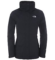 The North Face Evolution II Triclimate - giacca a vento trekking - donna, Black