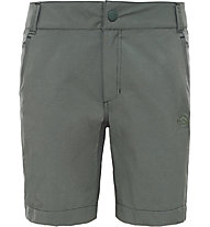 The North Face Women's Exploration Short Damen Wander- und Berghose kurz, Green