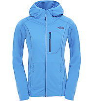 The North Face Incipent Hooded Giacca in pile Donna, Clear Lake Blue