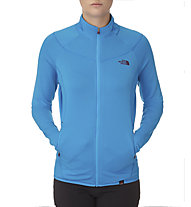 The North Face Kegon Stretch FZ Fleecejacke Damen, Quill Blue