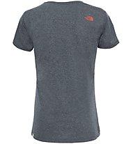 The North Face Easy - T-Shirt trekking - donna, Dark Grey