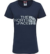 The North Face Easy - T-Shirt trekking - donna, Blue