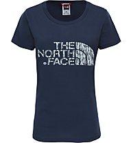 The North Face Easy - Trekking T-Shirt - Damen, Blue