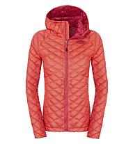 The North Face ThermoBall Kapuzenjacke Damen, Rambutan Pink