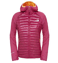The North Face Verto Prima Hoodie Giacca alpinismo donna, Dramatic Plum