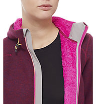 The North Face Zermatt Full Zip Hoodie Damen, Dramatic Plum Heather