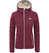 The North Face Zermatt - giacca in pile con cappuccio - donna 67e7faed1a7b