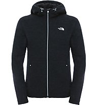 The North Face Zermatt Full Zip Hoodie Herren Fleecejacke, Black
