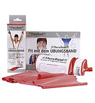 Thera Band Zippbox - elastici fitness, Red