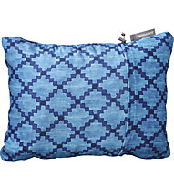 Therm-A-Rest Compressible Pillow Medium - cuscino da campeggio, Light Blue/Blue