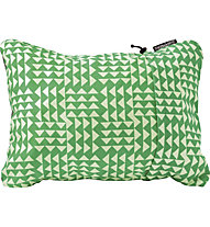 Therm-A-Rest Compressible Pillow Large - Camping-Kopfkissen, Green/White
