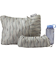 Therm-A-Rest Compressible Pillow Medium - cuscino da campeggio, Light Grey