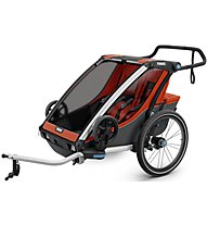 Thule Chariot Cross 2 - rimorchio bici, Orange