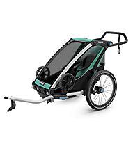 Thule Chariot Lite - Fahrradanhänger, Green/Black