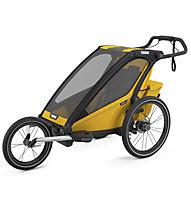 Thule Chariot Sport - rimorchio bici, Black/Yellow