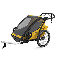 Thule Chariot Sport 2 - Fahrradanhänger, Black/Yellow