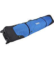 Thule RoundTrip Double Ski Roller - Rolltasche für zwei Paar Skier, Black/Blue