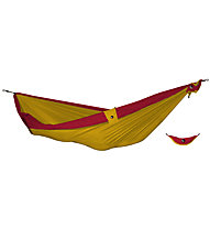 Ticket To The Moon Double Hammock, Red/Yellow