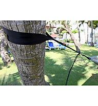 Ticket To The Moon Tree-Friendly Straps - fissaggio per amache, Black