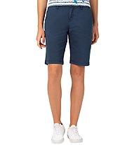 Timezone Madison Cotton - pantaloni corti - donna, Blue