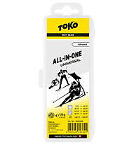Toko All-in-one Universal Wax  - Skiwachs, White/Yellow
