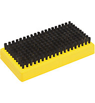 Toko Base Brush Horsehair, Yellow/Black