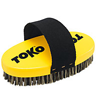 Toko Base Brush Oval - spazzola, Black/Yellow