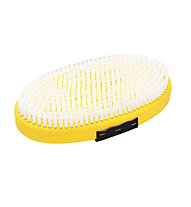 Toko Base Brush oval Nylon with Strap - Waxbürste, Yellow/Black