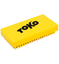 Toko Polishing Brush Liquid Paraffin - Skibürste, Yellow