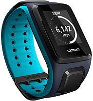 TomTom Runner 2 Cardio+Music - orologio GPS, Blue