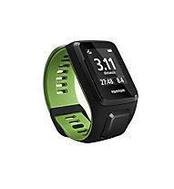 TomTom Runner 3 GPS-Uhr Multisport, Black/Green