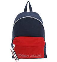 Tommy Jeans Logo Tape Dome - Freizeitrucksack, Blue/Red