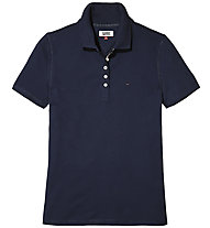 Tommy Jeans Original Basic - Polo-Shirt - Damen, Blue
