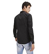 Tommy Jeans Original Stretch - Langarmhemd - Herren, Black