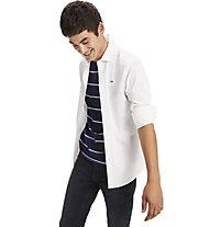 Tommy Jeans Original Stretch - Langarmhemd - Herren, White