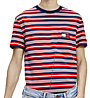 Tommy Jeans Stripe Pocket - T-shirt - Herren, Red/Blue/White