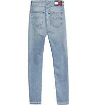 Tommy Jeans Sylvia Hr Spr Skny Ankle Clbsd - jeans - donna, Blue