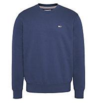 Tommy Jeans Tjm reg. fleece giro - felpa - uomo, Blue