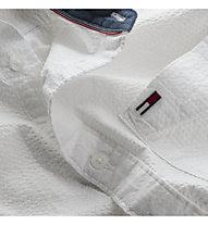 Tommy Jeans Tjm Solid Seersucker Shirt - Langarmhemd - Herren, White