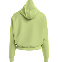 Tommy Jeans Tjw Cropped Tommy Flag Hoodie - Kapuzenpullover - Damen, Light Green