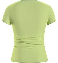 Tommy Jeans Tjw Essential Skinny Logo Tee - T-Shirt - Damen, Light Green