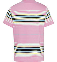 Tommy Jeans Tjw Regular Center Badge Strip - T-Shirt - Damen, Pink