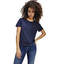 Tommy Jeans Slim jersey - T-shirt - donna, Blue