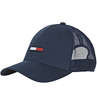 Tommy Jeans Trucker Flag - Kappe, Blue