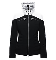 Toni Sailer Jamie Damen-Skijacke, Black/Bright White/Silver
